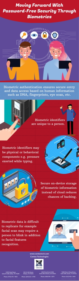 Moving Forward With Password-Free Security Through Biometrics