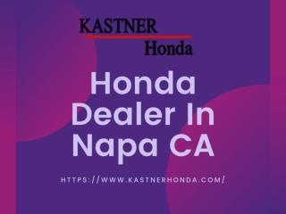 Honda Dealer in Napa CA