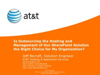 Is Outsourcing the Hosting and Management of Our SharePoint Solution the Right Choice for My Organization?