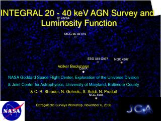 INTEGRAL 20 - 40 keV AGN Survey and Luminosity Function
