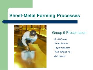 Sheet-Metal Forming Processes