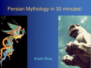 Persian Mythology in 30 minutes!
