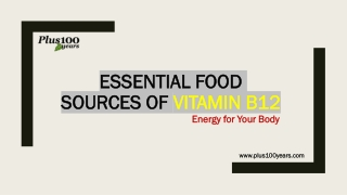 Amazing Top 10 Food Sources of Vitamin B12