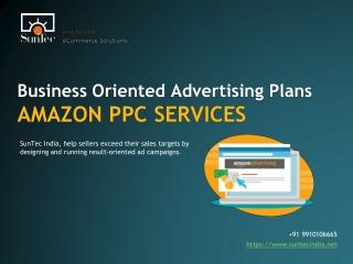 Amazon PPC Management Services   SunTec India