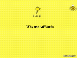 Why use AdWords?