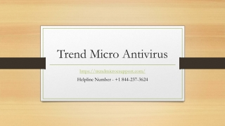 Download Trend Micro Antivirus Software