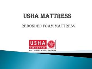 Usha Shriram Rebonded Foam Mattress