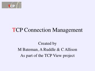 T CP Connection Management
