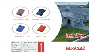 Tapco Roofing Tiles