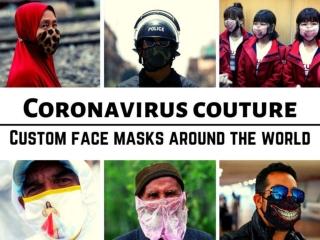 Coronavirus couture