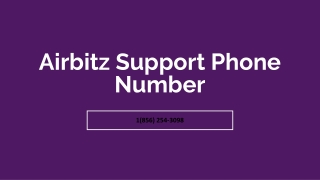 Airbitz Support Phone Number【✇1(856) 254-3098✇】