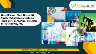 Phenol Market Size, 2030