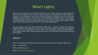 Wharf Lights