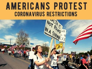 Americans protest coronavirus restrictions