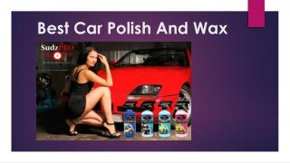 Best Car Polish And Wax