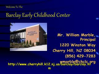 Barclay Early Childhood Center