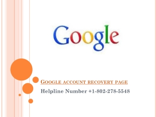 How to Recover Google Password?