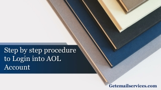 Step by step procedure to Login into AOL Account