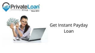 Same Day Payday Loans - Private Loan Shop