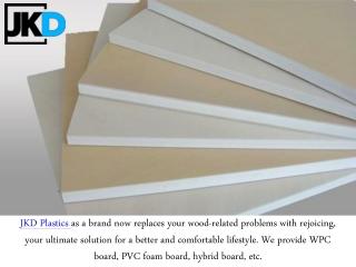 Want To Get PVC Foam Board Sheet - Contact Us