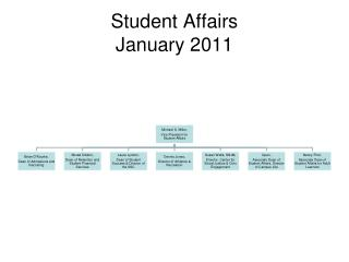 Student Affairs January 2011