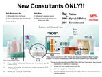 New Consultants ONLY