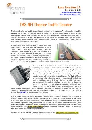 Doppler Radar Sensors