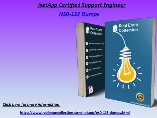 2020 Updated NetApp NS0-193 Exam Dumps - NS0-193 Dumps