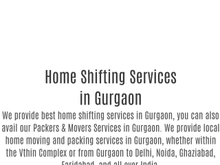 Packers and Movers Gurgaon   Movers and Packers Gurgaon