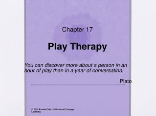 Chapter 17 Play Therapy