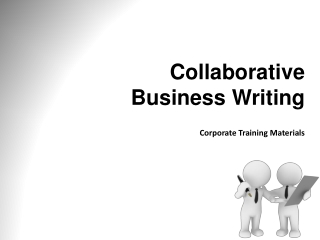 Collaborative Writing   Managing content and design in group writing projects