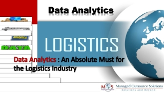 Data Analytics: An Absolute Must for the Logistics Industry