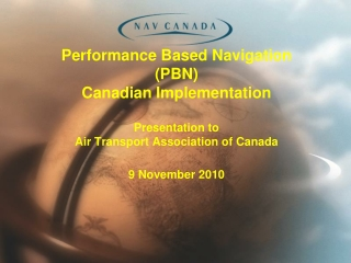 RNAV and Airspace Design