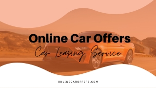 Online Car Offers