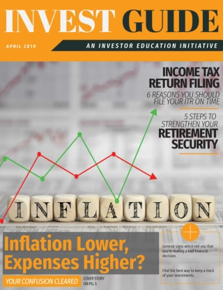 Inflation Lower, Expenses Higher