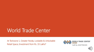 WTC Greater Noida