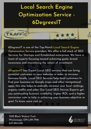 Local Search Engine Optimization Services - 6DegreesIT