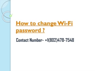 How to change your Cox Wi-Fi password?