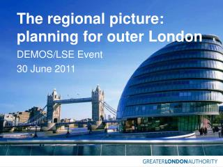 The regional picture: planning for outer London