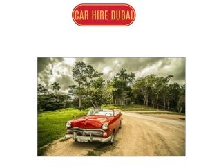 Car hire Dubai