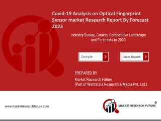 Covid-19 Analysis on Optical Fingerprint Sensor market
