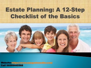 Estate Planning: A 12-Step Checklist of the Basics