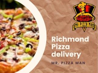 Richmond pizza delivery