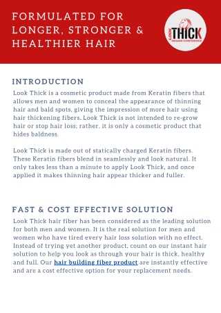 Buy The Best Hair  Building Fibers Products