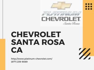 Chevrolet Santa Rosa CA
