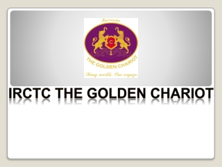 Golden Chariot - Book A Beautiful Journey From Bangalore To Mysore