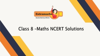 ICSE Maths NCERT solutions for Class 8 provided by Extramarks are updated too.