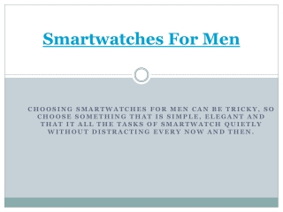 Shop Smartwatches for Men