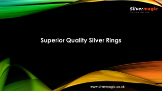 Superior Quality Silver Rings