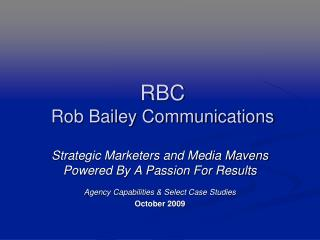 RBC Rob Bailey Communications